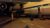 Syria -- A transport plane at Hmeimim airbase that has delivered humanitarian aid from Armenia, 4Oct2016.