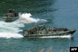 Совместные военные учения США и Филиппин в Южно-Китайском море. Осень 2015 года
