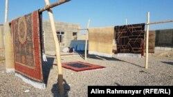 کارخانه تولید قالین وطنی در جوزجان