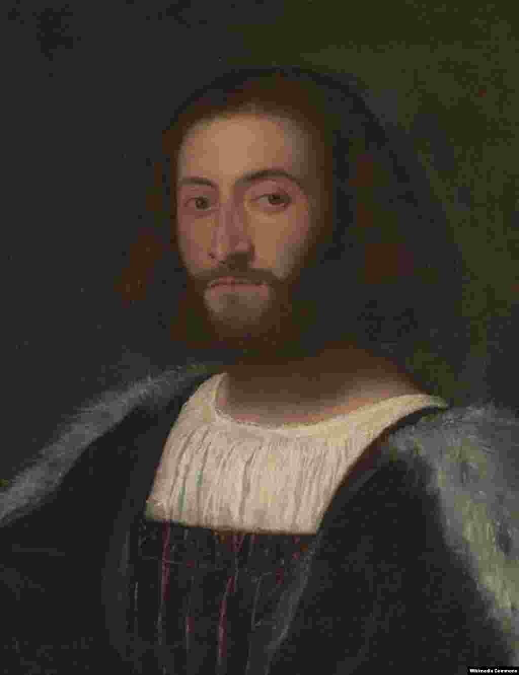 Ludovico Ariosto, un portret făcut de Tizian.