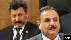 Представители сирийской оппозиции: Ахмед Бери, позади него слева — Ахмед Осман. Астана, 4 мая 2017 года.