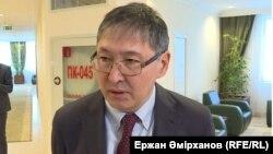 Ерлан Сағадиев, білім және ғылым министрі.