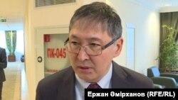Ерлан Сағадиев, білім және ғылым министрі. Астана, 6 ақпан 2018 жыл.
