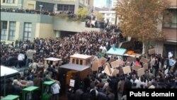 اعتراضات در ۱۶ آذر ۸۸ در دانشگاه امیرکبیر تهران