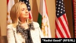 Американската државна секретарка, Хилари Клинтон.