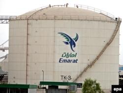 Хранилище нефти в дубайском городе Галила. Иллюстративное фото.