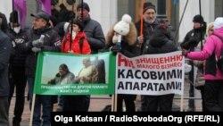 Фоторепортаж: акція «SAVE ФОП» під Верховною Радою