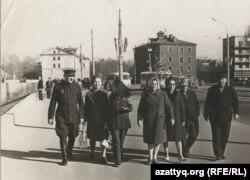 Жители города Киров. Россия, 1969 год. Фото из семейного архива Марковских.