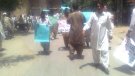 Doctors have been on strike in Balochistan since last month.
