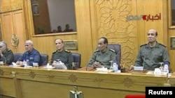 Заседание Высшего совета вооруженных сил Египта
