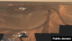 Opportunity на Марсі, архівне фото