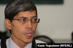 Замир Каражанов, политолог. Алматы, 14 декабря 2012 года.