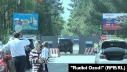 Инцидент произошел недалеко от российской военной базы в Гипроземгородке