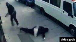 """Игра """"Нокаут"""" в Нью-Джерси: кадр из видеоролика на YouTube"""