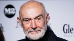 Actor Sean Connery arrives at the Dressed To Kilt charity fashion show in New York