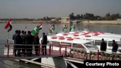 مشروع التاكسي النهري في دجلة ببغداد