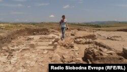 Археолошкиот локалитет Градиште во селото Младо Нагоричане во близина на Куманово.