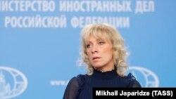Мария Захарова, официальный представитель МИД России