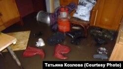 Затопленные дома жителей Алтайского края