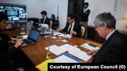 Eurogrupul în videoconferința