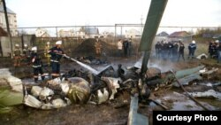 """Ми-17"" боралагы егылды. Гадәттән-тыш хәлләр министрлыгы фотосы."
