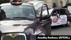 """Азербайджан. """"Лондонские"""" такси"""