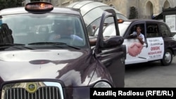 Azerbaijan -- a London taxi in Baku, 29Aug2012