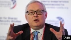 Russian Deputy Foreign Minister Sergei Ryabkov (file photo)