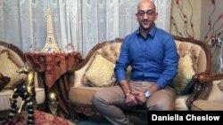 Samaritan Rafi Danfi is hoping to marry the Ukrainian woman he met online.