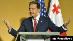 Президент Грузии Михаил Саакашвили, 5 июня 2012