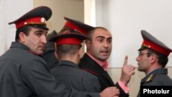 Осужденный Ашот Арутюнян