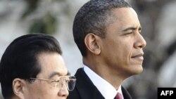 Барак Обама и Ху Џинтао