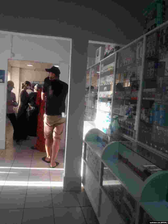 Ашхабадская аптека, август, 2020.
