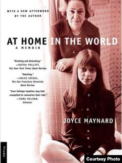 """Юбилейное издание мемуарной книги Джойс Мейнард """"В миру как дома""""."""