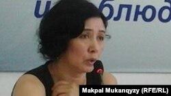 Юрист Гульмира Куатбекова.