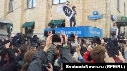 """Акция """"Стратегии-31"""" на Триумфальной площади 31 мая"""