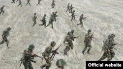 Военные учения в Карабахе (архивное фото)