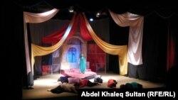 من مهرجان الفنون المسرحية للمدارس في دهوك