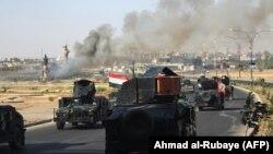 Іракські урядові сили займають Кіркук, 16 жовтня 2017 року