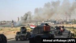 Иракские правительственные силы занимают Киркук (16 октября 2017 г.)