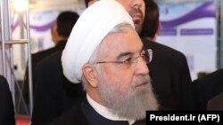 Хассан Роухани, Иран президенті. Тегеран, 9 сәуір 2018 жыл.