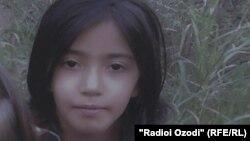 Марьям Шоева – девочка из Таджикистана, помещенная в приют в Багдаде.