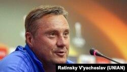 Головний тренер ФК «Динамо» (Київ) Олександр Хацкевич