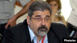 Armenia -- Giro Manoyan, a senior member of the opposition Armenian Revolutionary Federation.