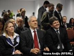 Boris Tadić na otvaranju kol-centra SITEL-a u Beogradu, 22. novembar 2011.