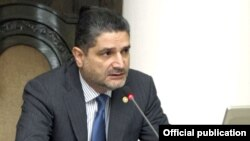И.о. премьер-министра Армении Тигран Саргсян