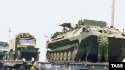 Вывоз из Приднестровья российской военной техники в апреле 2003 года