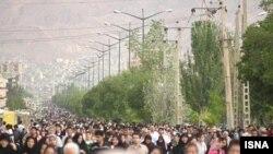 22 may 2009 - Təbrizdə Xoram şəhərin azad olunması qeyd edilir