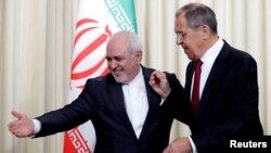 Ռուսաստանի և Իրանի ԱԳ նախարարները Մոսկվայում համատեղ ասուլիսից հետո, 2-ը սեպտեմբերի, 2019թ․