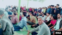 Iran--Shoush, Haft Tapah workers attended Friday Prayer ceremony on November 16 to protest delayed wages.